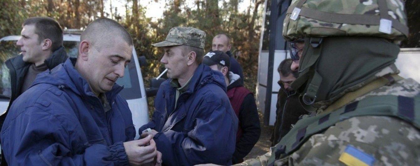 """""""Представители ЛНР"""" приехали на подконтрольную Киеву территорию, чтобы верифицировать пленных"""