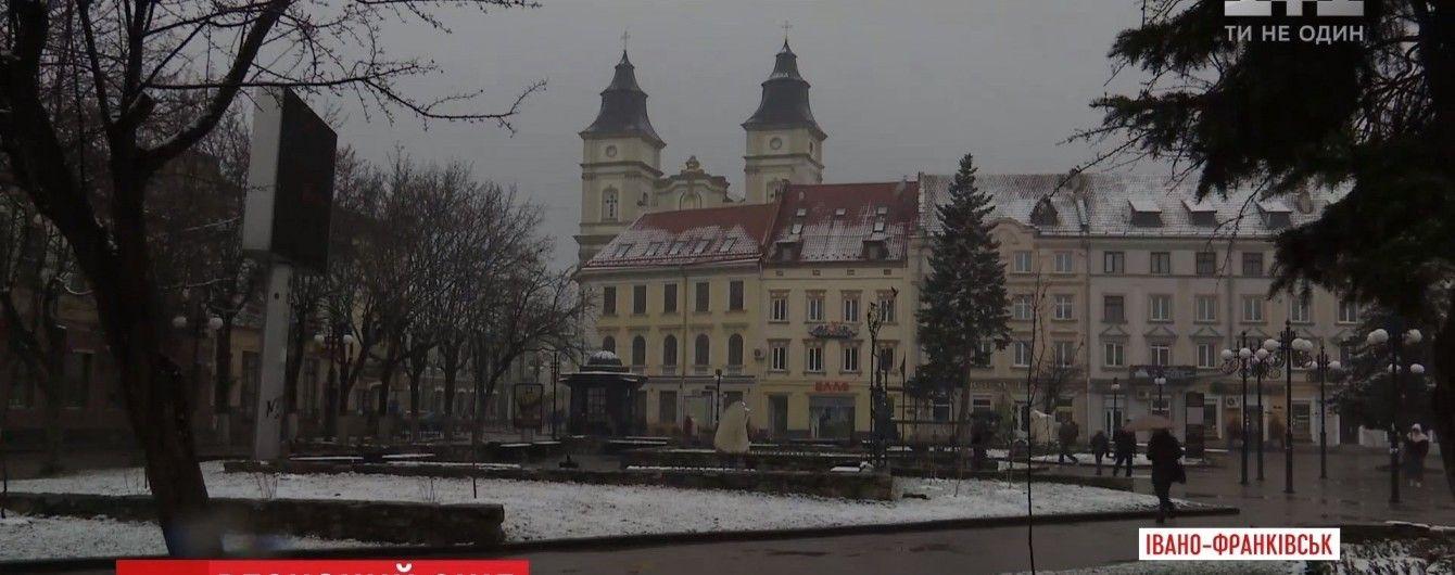 В Украину вернулся пушистый снег