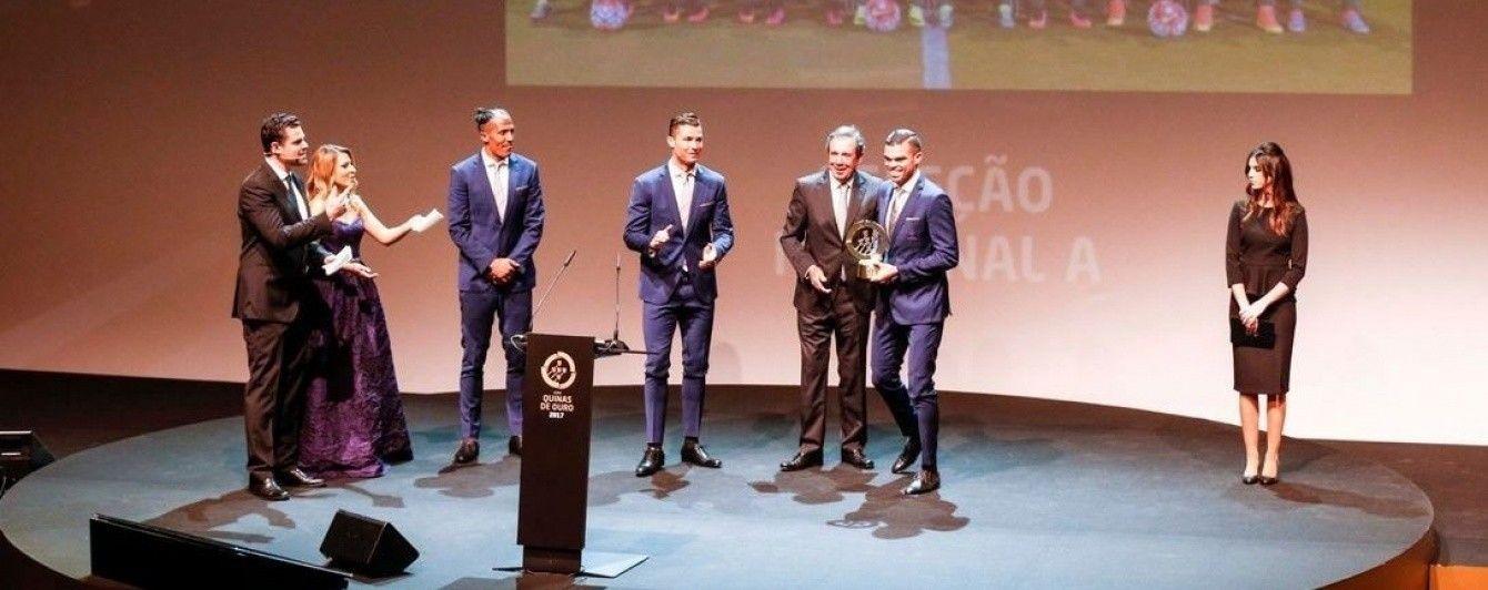 Роналду визнаний найкращим футболістом року в Португалії