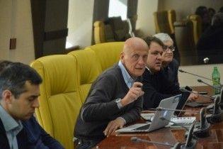 Коллина провел семинар для арбитров чемпионата Украины