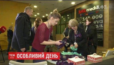 """Компания """"1+1 медиа"""" устроила благотворительную ярмарку ко Дню человека с синдромом Дауна"""