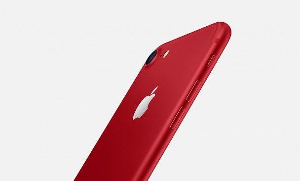 Apple представила лимитированные красные iPhone 7 и iPhone 7 Plus