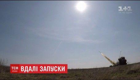 Военные провели пробные запуски ракет, изготовленных в Украине