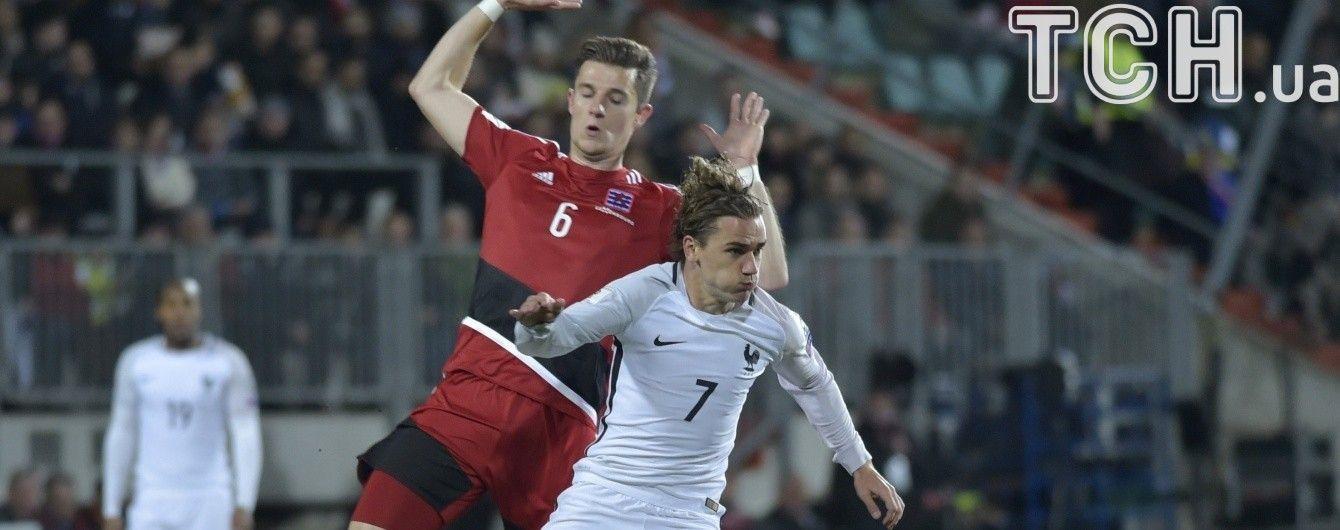 Люксембург забив Франції, осічки Бельгії та Нідерландів. Результати матчів відбору ЧС-2018 за 25 березня