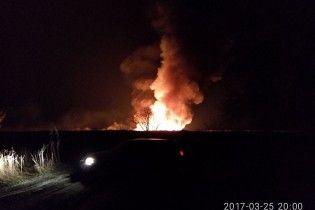 В Черкасской области горел Липовский орнитологический заказник