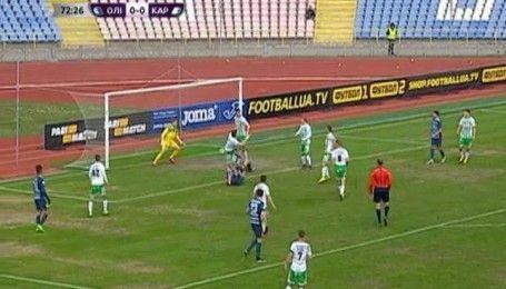 Олимпик - Карпаты - 0:0. Видео матча