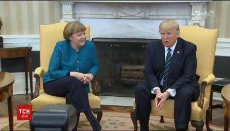 300 миллиардов долларов за услуги НАТО Трамп выставил Меркель
