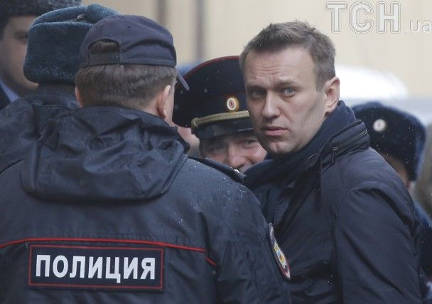 У Росії арештували Навального