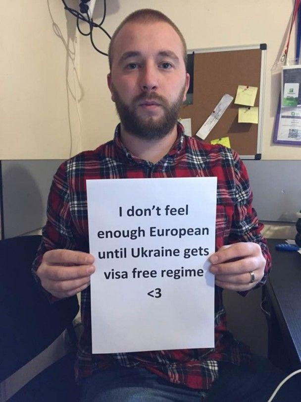 Грузини флешмобом закликали ЄС поквапитися із наданням безвізу українцям