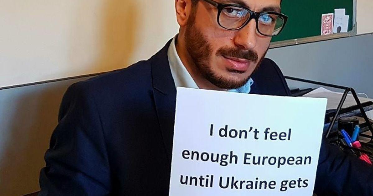 Учасники флемшобу на підтримку українців