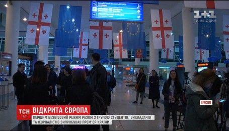 Грузия отмечает первый безвизовый день с Евросоюзом