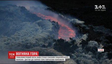 Науковці не можуть передбачити наслідки виверження вулкану Етна