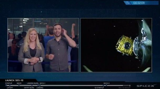 SpaceX уперше в історії запустила в космос ракету, яка вже літала, й посадила її