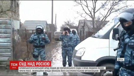 Кримські татари подали позов проти Росії до Європейського суду з прав людини