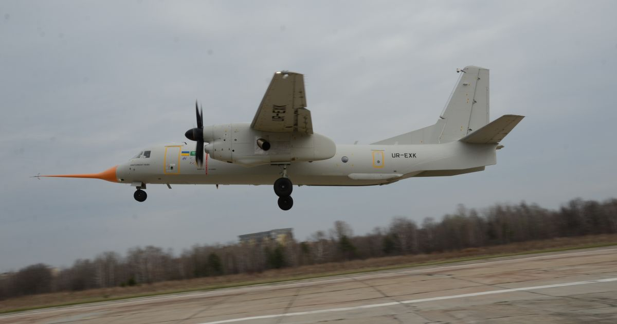 Перший політ Ан-132Д