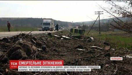 Двоє громадян Молдови загинули в ДТП на Львівщині