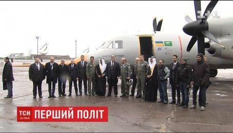 """Инженеры госпредприятия """"Антонов"""" запустили в небо новый самолет"""