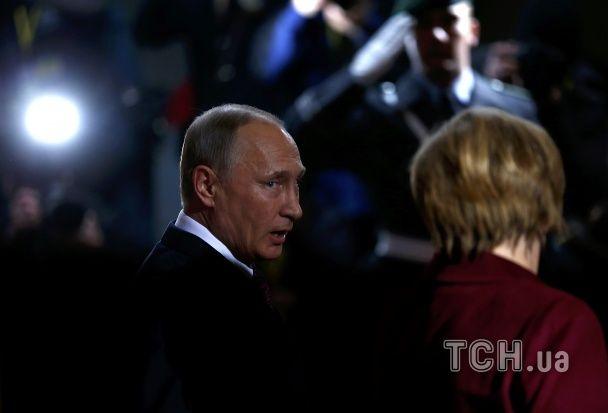 """Путін прибув до Берліна для участі в """"нормандській зустрічі"""""""