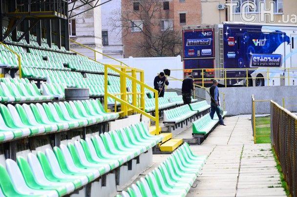 """""""Огород"""" ждет гостей. Как стадион """"Полтавы"""" готовят к матчу с """"Шахтером"""""""