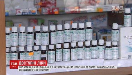 """Безкоштовно чи з доплатою: МОЗ оприлюднило список медикаментів з програми """"Доступні ліки"""""""