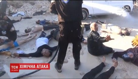 Через відсутність антидоту потерпілих від хімічної атаки в Сирії відправляють до Туреччини