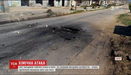 США обвиняют Башара Асада в химической атаке на северо-запад Сирии