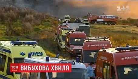 В Португалии произошел взрыв на фабрике по производству фейерверков