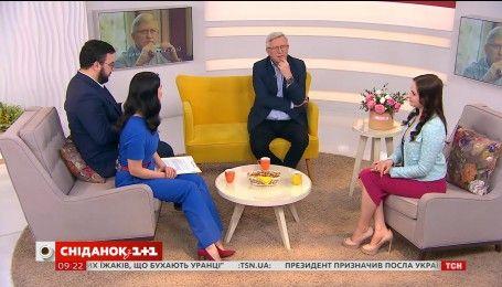 """У гостях """"Сніданку"""" актори серіалу """"Хороший хлопець"""" Валерія Ходос і Володимир Горянський"""