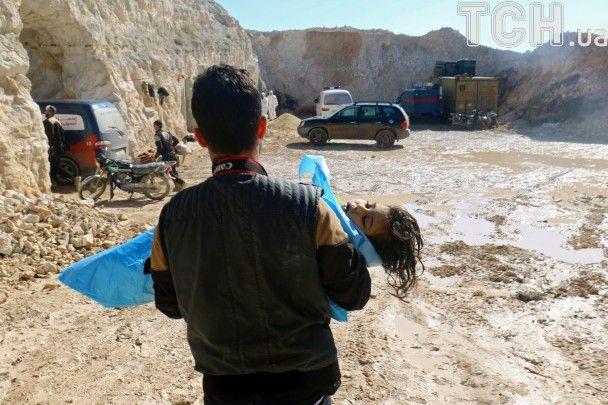 Правозахисники назвали, яку хімісною зборою застосовують проти сирійських людей