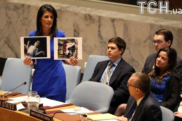 США будуть діяти самостійно, якщо Радбез ООН не ухвалить резолюцію щодо Сирії - посол Хейлі