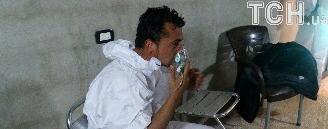 Військові Ізраїлю повідомили про кількість хімічної зброї в Асада