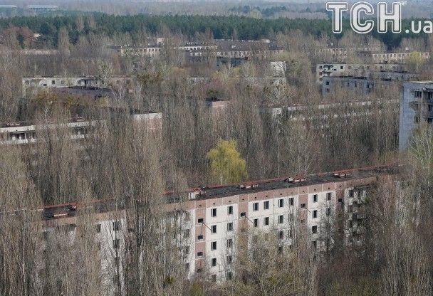 Reuters показал жуткие фото безлюдной чернобыльской Зоны отчуждения