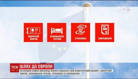 Граждане Украины могут ехать в Европу без визы только при определенных условиях