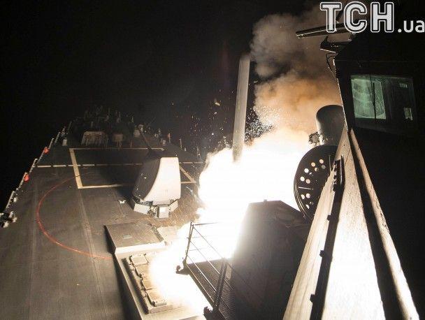 59 ракет и два эсминца: стали известны детали ракетного удара США по Сирии