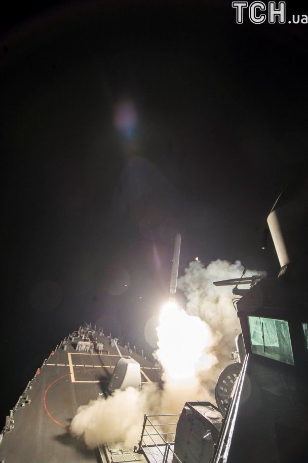 59 ракет та два есмінці: стали відомі деталі ракетного удару США по Сирії