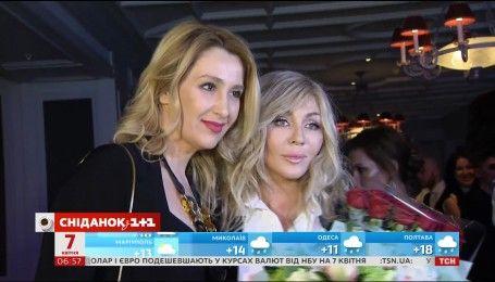 Ирина Билык отпраздновала день рождения в кругу самых близких родственников и друзей
