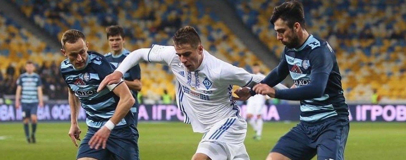 Динамо - Олимпик - 4:0. Видео матча чемпионата Украины