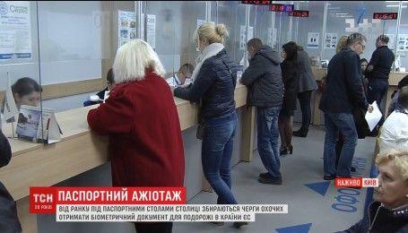 ЦНАП возобновили выдачу биометрических паспортов