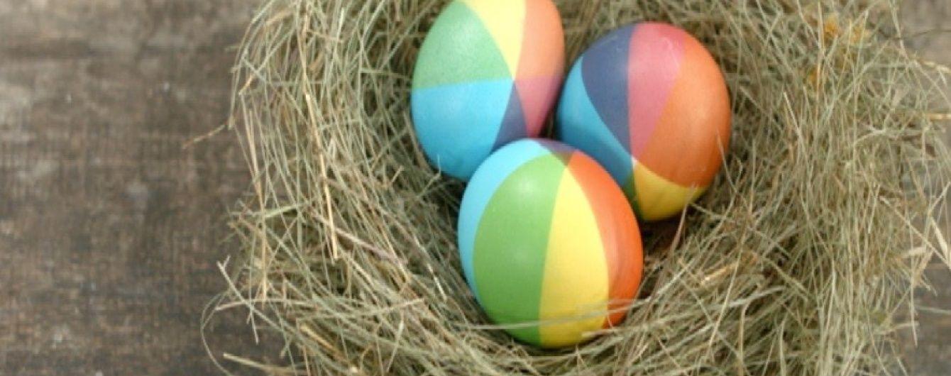 Готовимся к Пасхе вместе с детьми: красим яйца в радугу