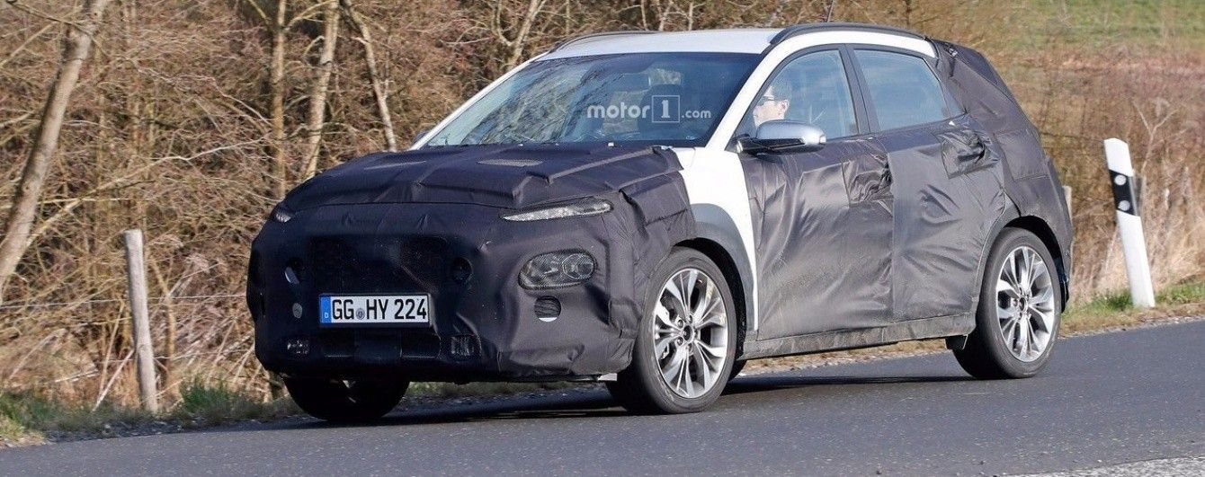 Hyundai вывела на тесты новый компактный кроссовер