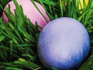Топ-5 природных красителей для яиц