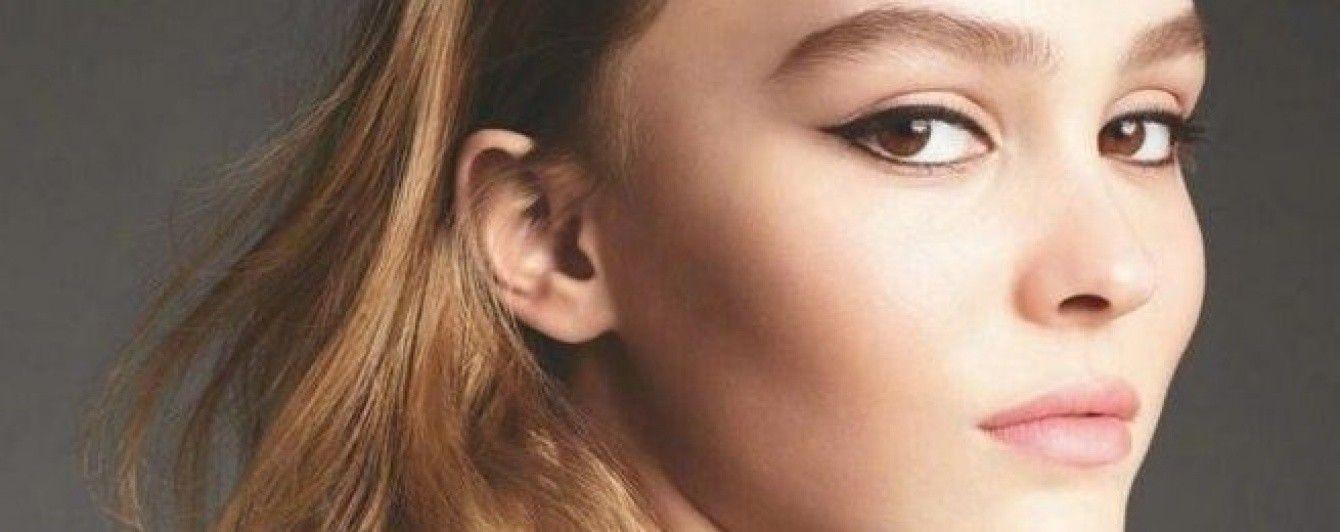 Лили-Роуз Депп в новом рекламном кадре парфюма Chanel