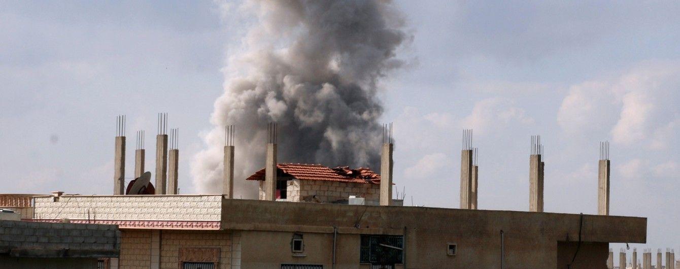 Самолеты американских ВВС ударили по боевикам, которых поддерживает режим Асада - Reuters