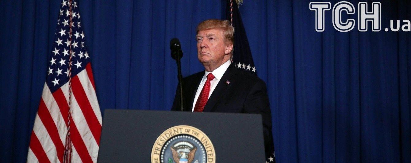 Трамп подякував командиру есмінця, який завдав удару по авіабазі в Сирії