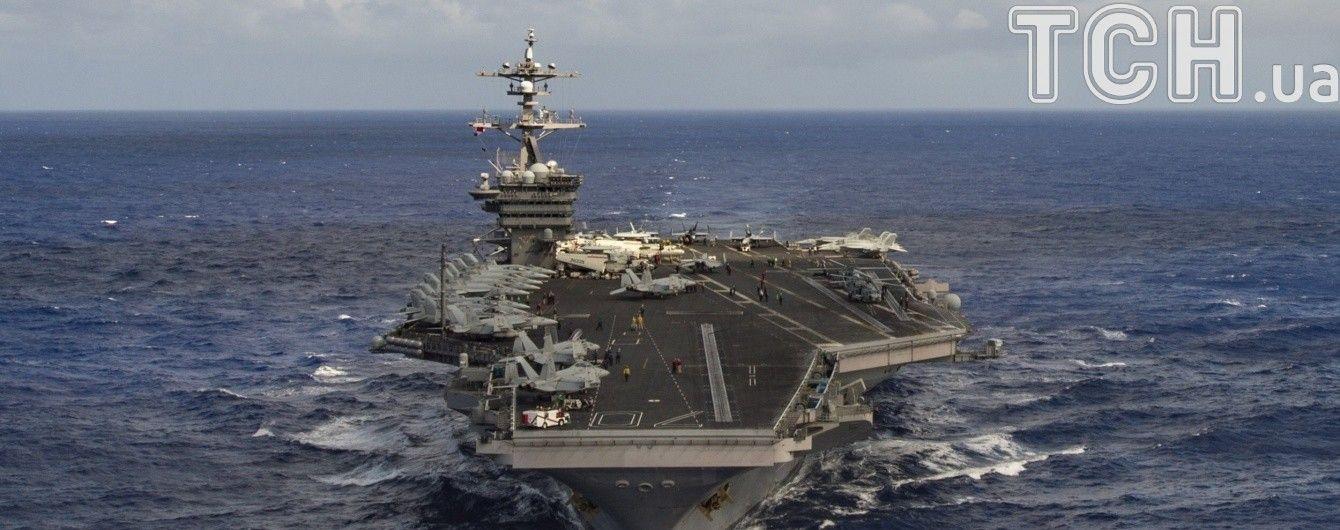 Авіаносна група ВМС США підійшла до КНДР на відстань удару