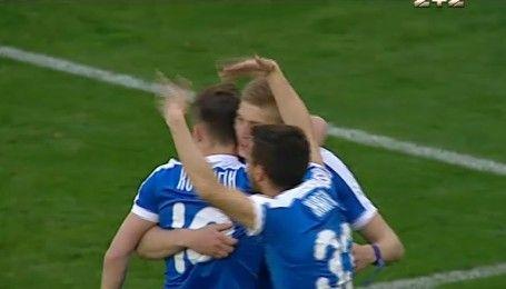 Карпати - Дніпро - 1:1. Відео голу Довбика