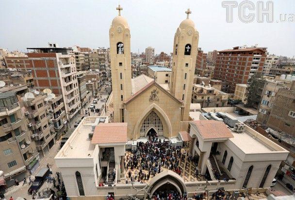 Вибух у Єгипті на служінні у Вербну неділю: з'явилися перші фото з Танти