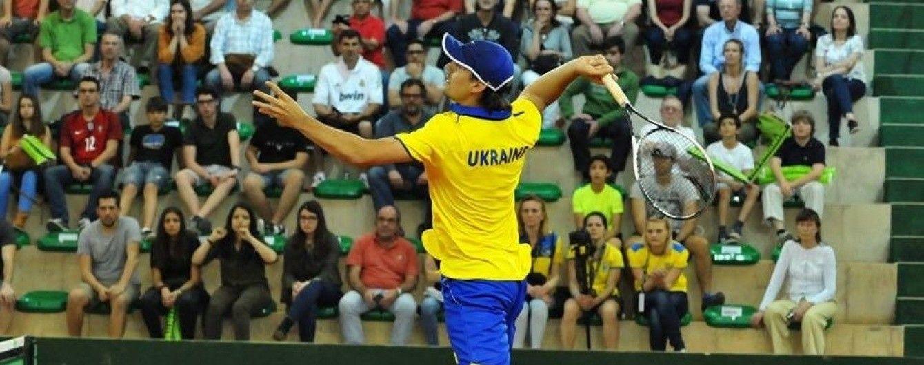 Україна програла португальцям і не змогла вийти у плей-оф еліти Кубка Девіса
