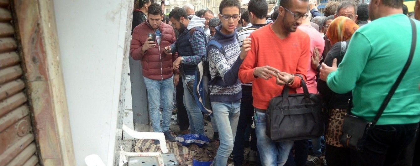 У Мережі з'явилося відео моменту вибуху смертника біля церкви в Єгипті
