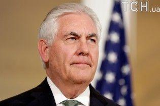 Тіллерсон не прагне ескалації поміж Вашингтоном і Москвою